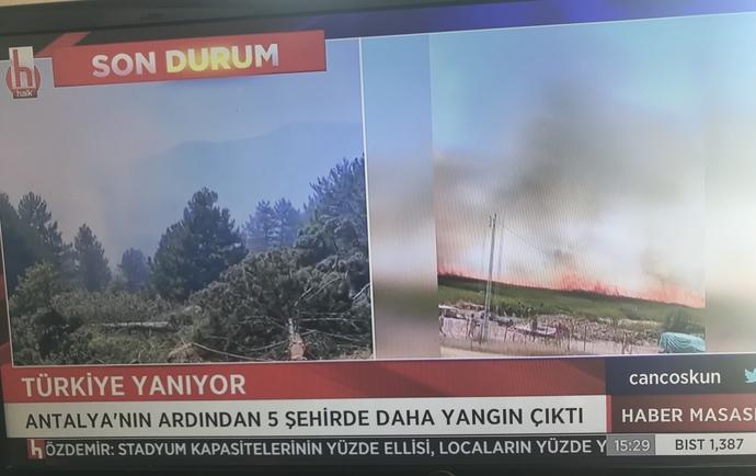 #Manavgat #Marmaris #Mersin #Osmaniye #Alanya #Bodrum son olarak #Kütahya ülkenin bir çok noktası Alev alev yanıyor. Sizce neden?