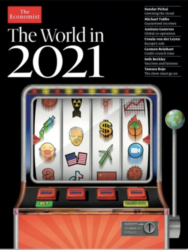 2021 de yaşanacak olayları bu dergi nasıl biliyor?