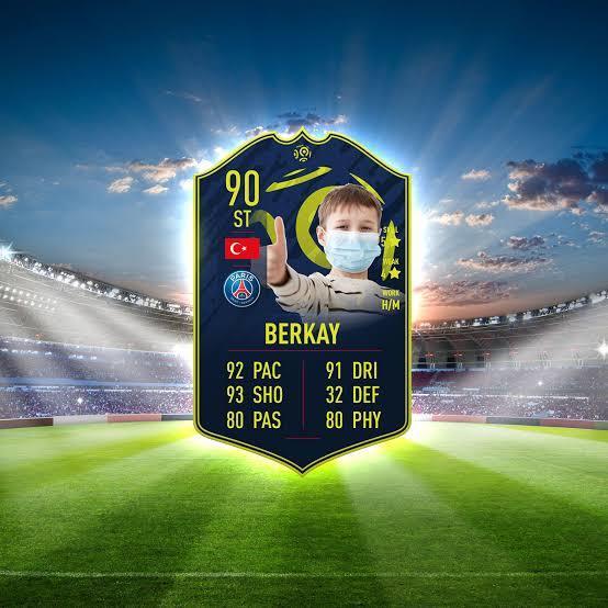Size özel FIFAnın Fut kartını oluşturayım mı?