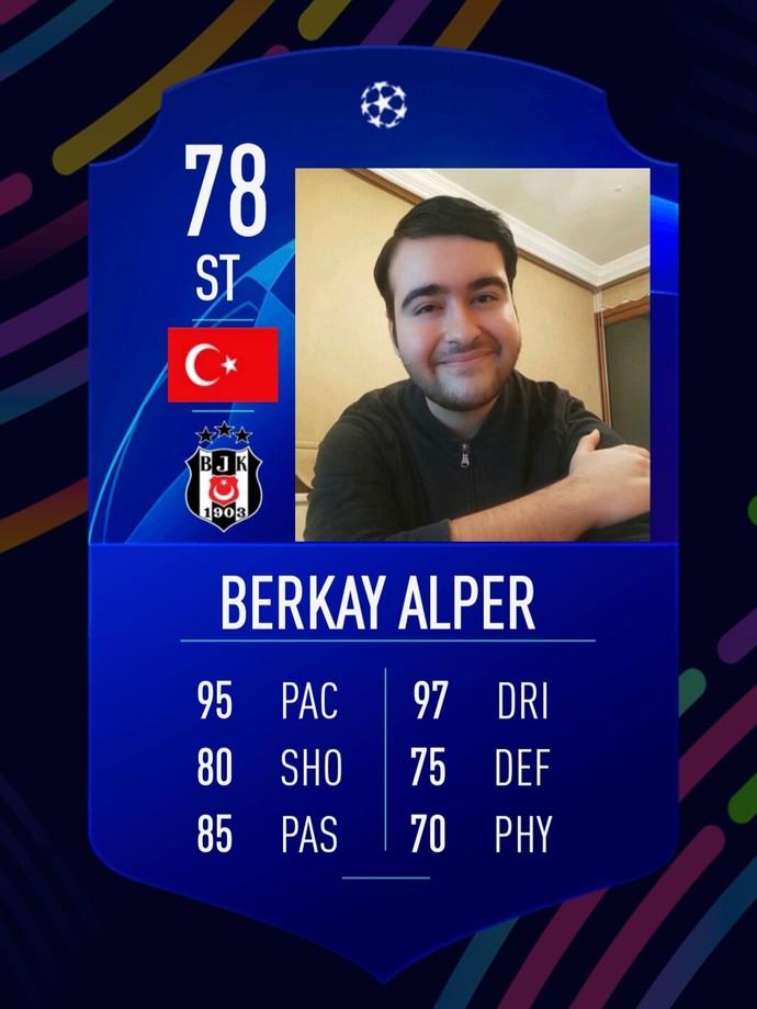Size özel FIFA'nın Fut kartını oluşturayım mı?