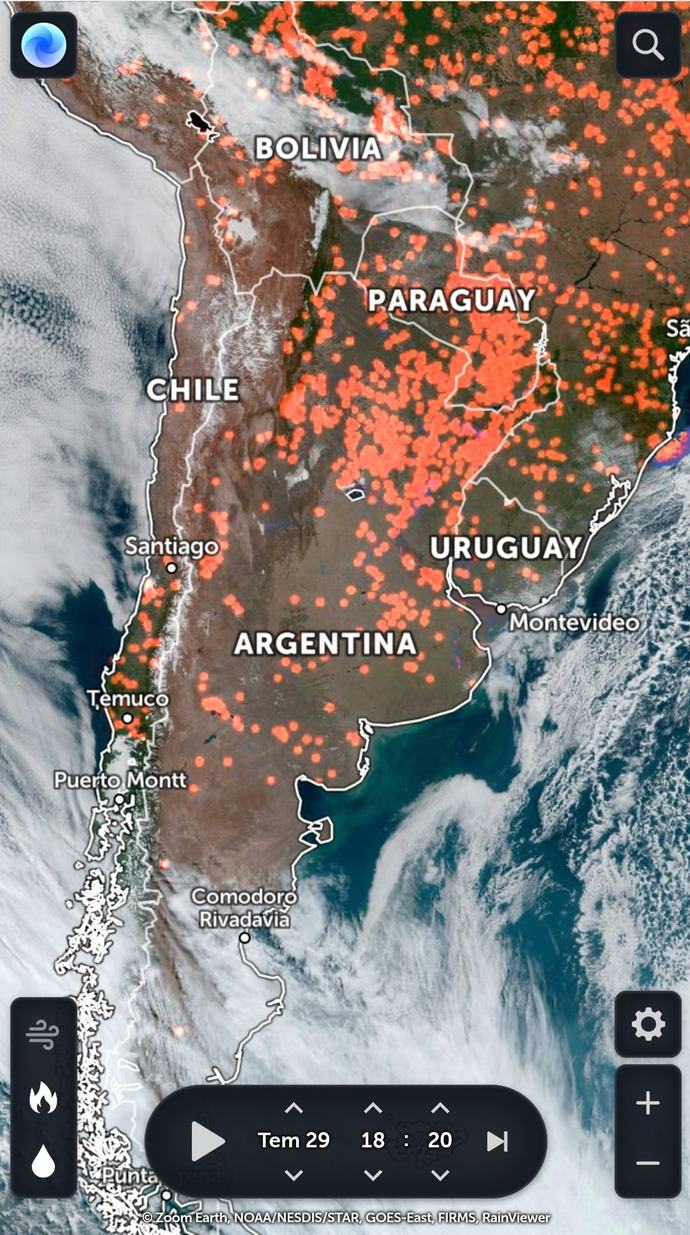 Tüm dünya anormal şekilde yanıyor farkında mısınız?