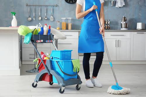 İş yerinde göreviniz olmamasına rağmen temizlik yapar mısınız?