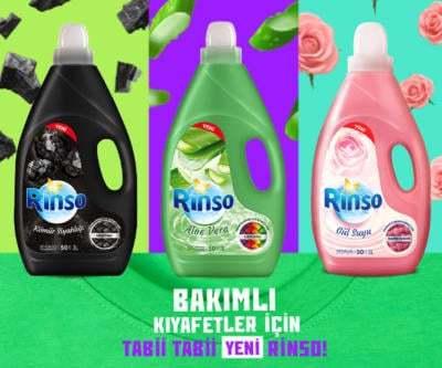Rinso Doğanın Gücü Sıvı Çamaşır Deterjanları