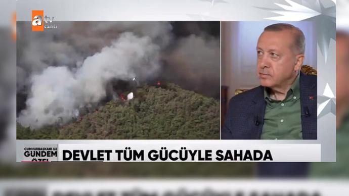 Cumhurbaşkanı Erdoğan: Yangın Büyükşehir Belediyelerinin sorumluluğundadır dedi. Sizce sorumlu kim?