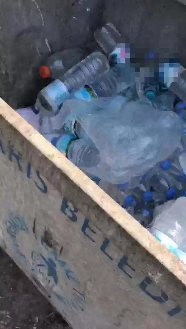 Yangın bölgesine gönderilen suların çöpe atılması konusunda ne düşünüyorsunuz?