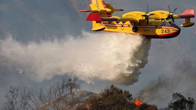 Sizce Yunanistana yangın söndürme uçağı göndermeli miyiz?