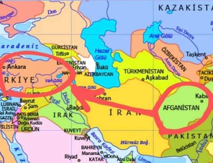 Şeriat isteyen Afganlar, niçin arap ülkelerini teğet geçip Türkiyede şeriat istiyor?