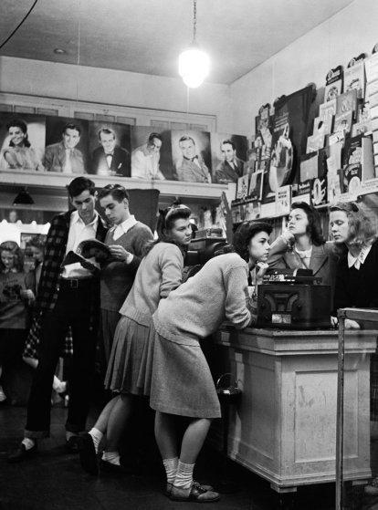 1940'ların başında Amerikan Gençleri