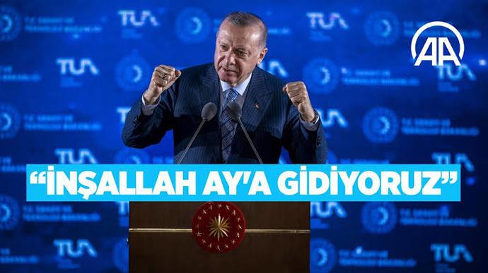 Erdoğan 2023 yılında aya astronot gönderebilir mi?