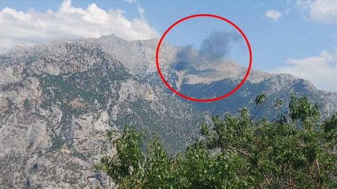 Kahramanmaraşta orman yangınına müdahale eden uçak düştü! Bu felaketler bitmeyecek mi?