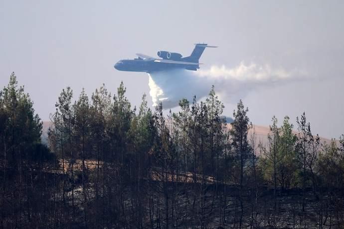 Yangın söndürme uçağı düştü! Sonumuz ne olacak?