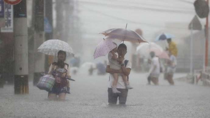 Japonya'da 'eşi görülmemiş' yağışlar sonrası 2 milyona yakın haneye tahliye çağrısı. Doğal afetlerin nedeni iklim krizi mi?
