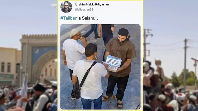 Türkiyede Talibanın zaferini lokum dağıtarak kutladı. Ne düşünüyorsunuz?
