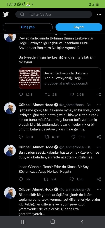 Cübbeli Ahmet Hocanın Milli Takım Voleybol Oyuncusu Ebrar Karakurt hakkındaki söylemlerini nasıl buldunuz?