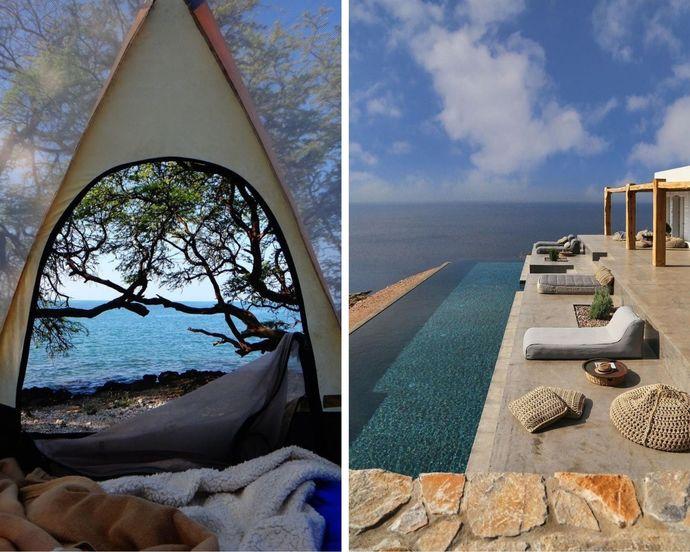 Kamp yapmak mı, otelde kalmak mı?