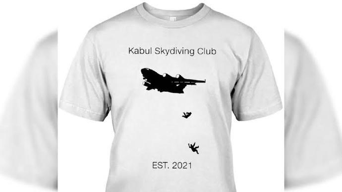 Afganli kisinin uçaktan düşüsünü simgeleştirip t shirt e basan ve e ticaretten satışa çıkartan amerika hakkında ne düşünüyorsun?