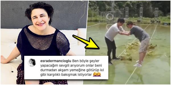 Esra Dermancıoğlu, Erkekler sadece sıkıcı akşam yemeklerine götürüyorlar dedi! Sizce kalp kazanmak için ne yapmak gerekli?