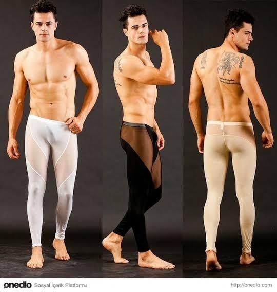 Kadınlar tayt giyip belli ediyor peki ya erkekler tayt giyerse linç gelirmiydi?