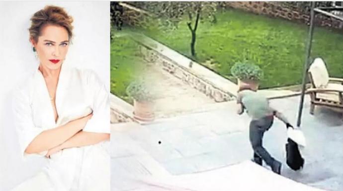 Hülya Avşar evine giren hırsızı kovaladı! Evde hırsızla karşılaşsaydınız ne yapardınz?