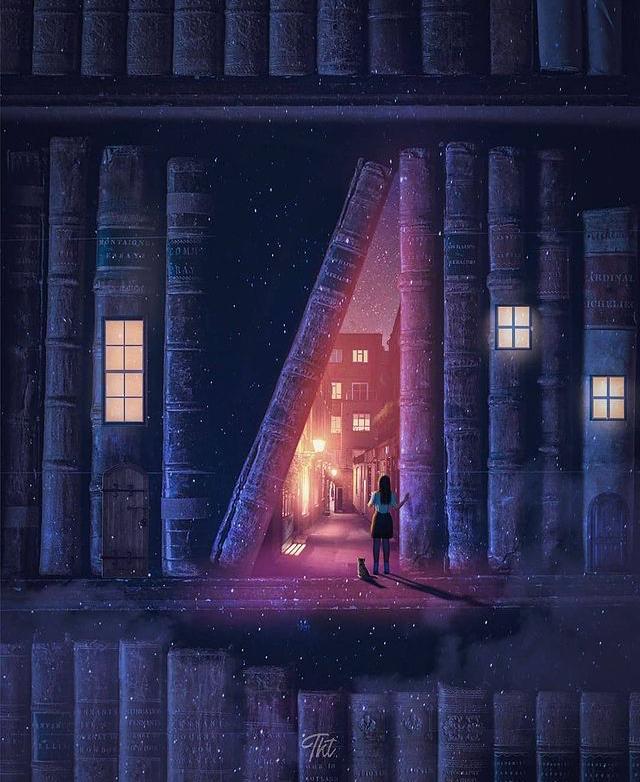 Sihirli bir kitap da olabilir 🤫