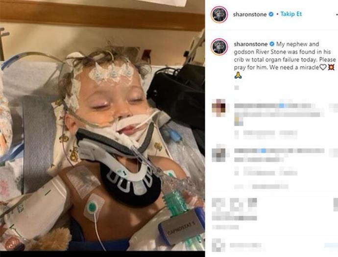 Sharon Stoneun 11 aylık yeğeni hayatını kaybetti. Ne düşünüyorsunuz?
