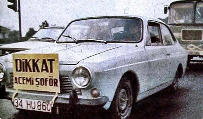 Şoförlüğünüzün acemilik zamanlarına ait komik anılarınız var mı?