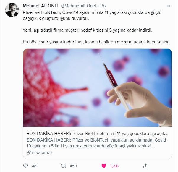 AKPli bir çok yorumcu ve yazarın aşı karşıtı olması sizce de tuhaf değil mi?
