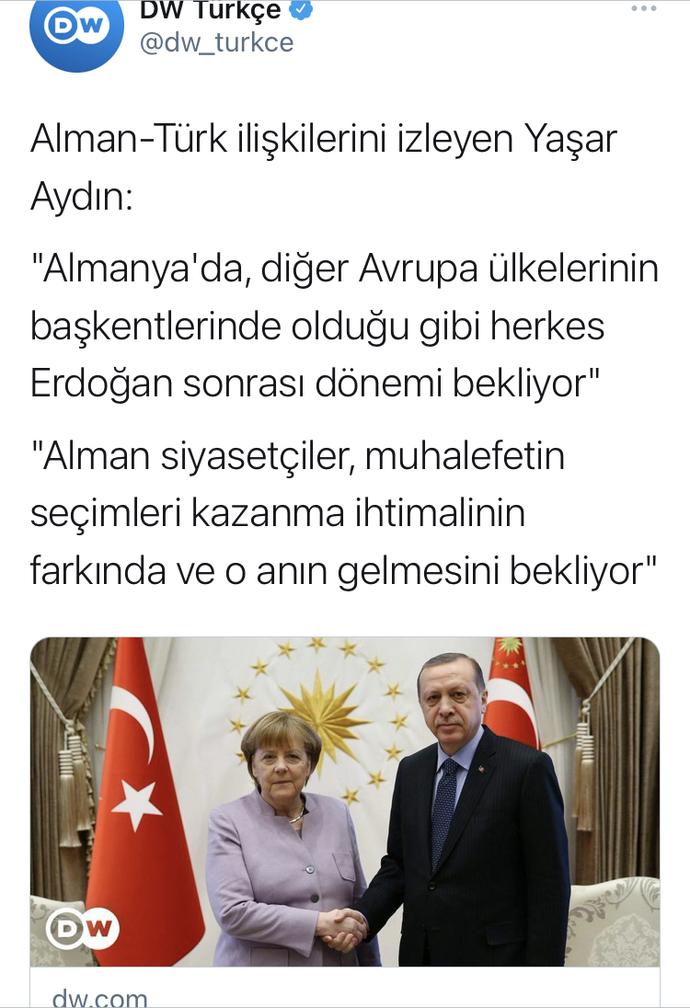 Erdoğan'ın gitmesini bekliyor musunuz?