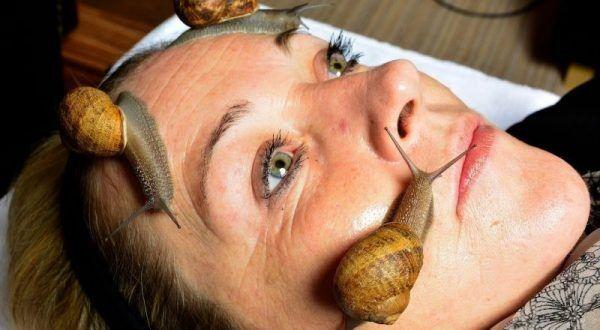 Güzelleşmek için yüzünüze salyangoz koyar mısınız?