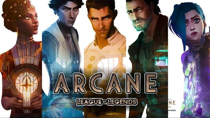 League of Legends evreninde geçen dizi Arcaneden yeni karakter posterleri yayınlandı. Düşünceleriniz neler?