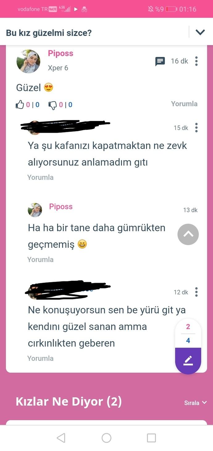 Başörtülüyüm diye 3 gündür lafla saldırıyorlar sizce Türkiyede hala bu kafada olmak normal mi?