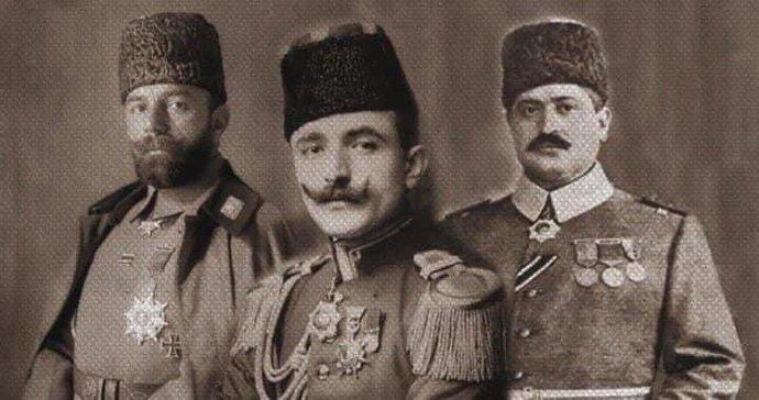 """""""Büyük Üçler""""(Talat, Enver Ve Cemal Paşalar)"""