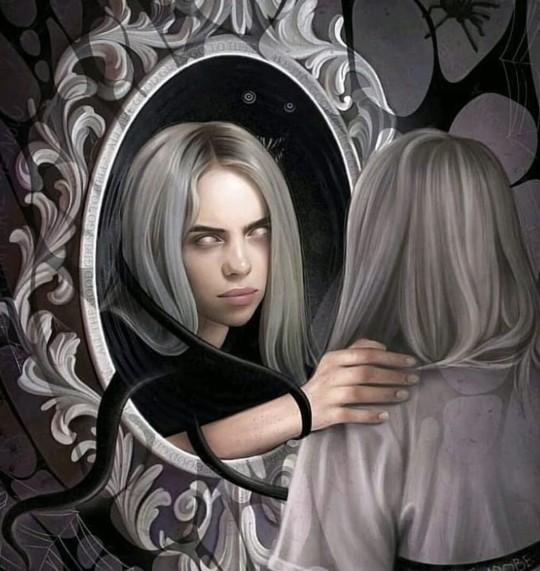 Billie çok mu psikopat gibi gözüküyor?