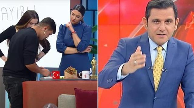 Fulya Öztürk, Fatih Portakala Ekmek yediğiniz yere laf etmeyin. Dedi! Sizce kim haklı?