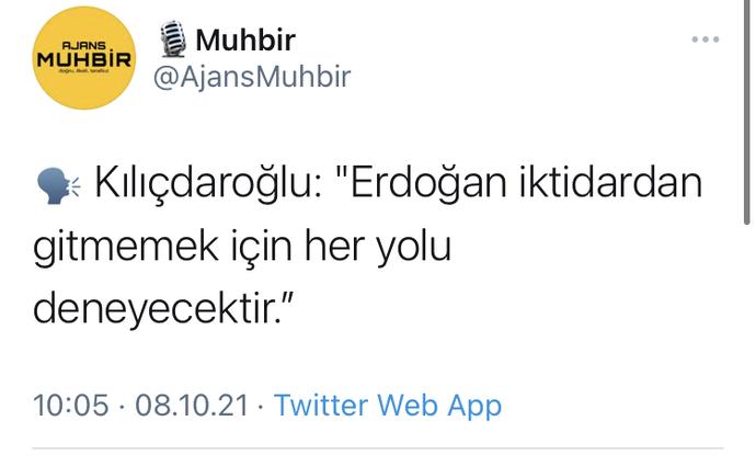 Erdoğan kaybederse gitmeyecek mi?