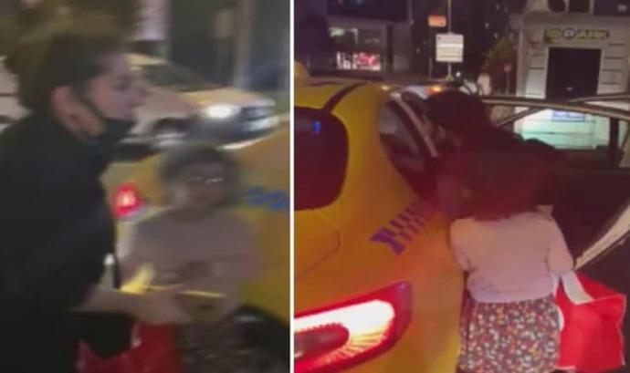 'Çocuğum üşüyor, lütfen' diyen kadını aracına almayan taksicinin belgesi askıya alındı. Ne düşünüyorsunuz?