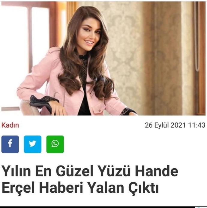 Hande Erçelin dünya güzeli seçildi haberi yalanmış, şaşırdınız mı?