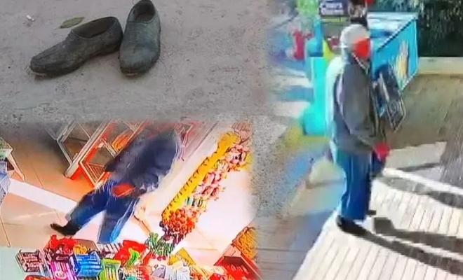 Market kirlenmesin diye ayakkabılarını çıkarıp girdi! Nezaket hakkında ne düşünüyorsun?