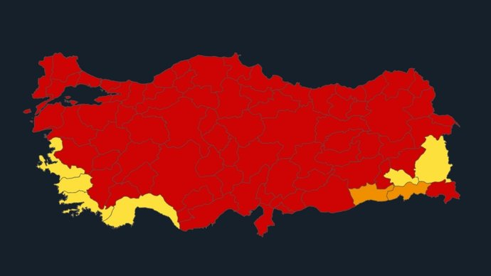 Türkiye koronavirüs risk haritasına göre bu kış kısıtlamalar gelir mi?