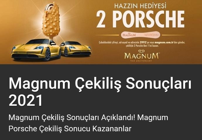 Magnum Araba çekilişine 15 milyon katılım olmuş! Ülkenin tek umudu Magnum mu?