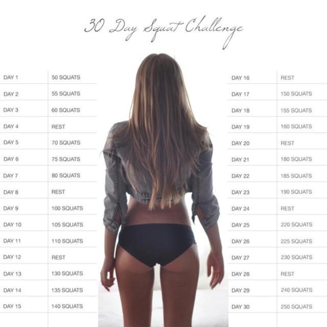 günlük squat programı