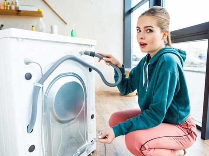 çamaşır makinesi gider hortumu