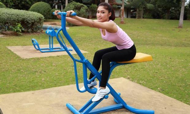 Parklardaki spor aletlerini kullanıyor musunuz?