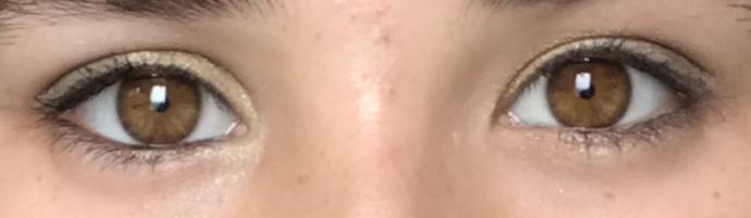 Göz farını düzgün sürmüş müyüm?