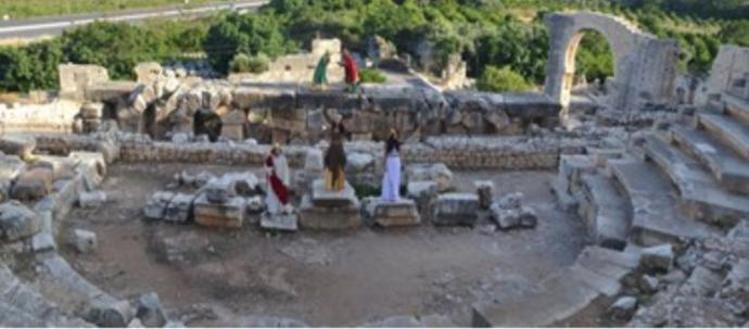 Ayaş Antik Tiyatrosu 2 bin yıl sonra perdelerini açıyor! Antik tiyatroda gösteri izlemek ister misin?
