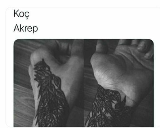 Burcunuzun yansıttığı dövme sizi yansıtıyor mu??