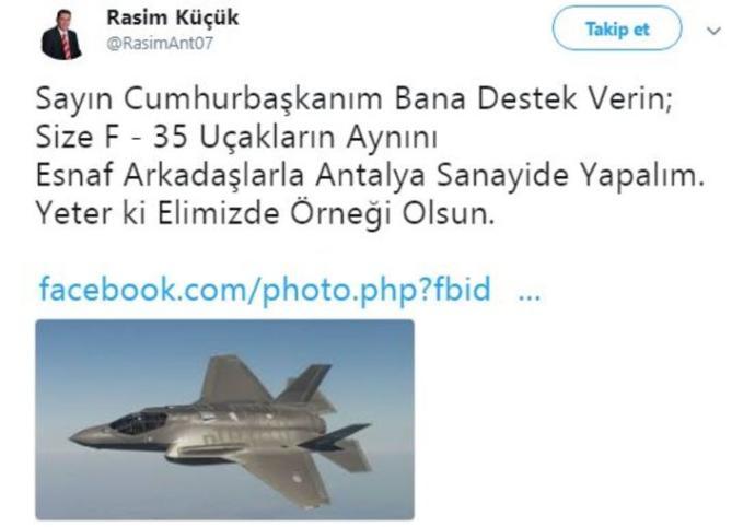 F-35 savaş uçaklarının aynısını sanayide yapsak işimize yarar mı?