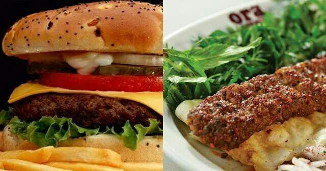 Hamburger mi? Adana Kebap mı? Tercihiniz hangisi?